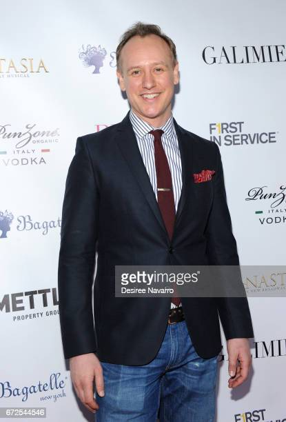 John Sanders attends BELLA New York Spring Issue cover party hosted by Kelly Osbourne at Bagatelle on April 24 2017 in New York City