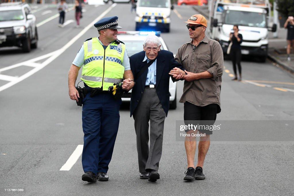 NZL: Anti-Racists Rally Against Racism And Islamaphobia
