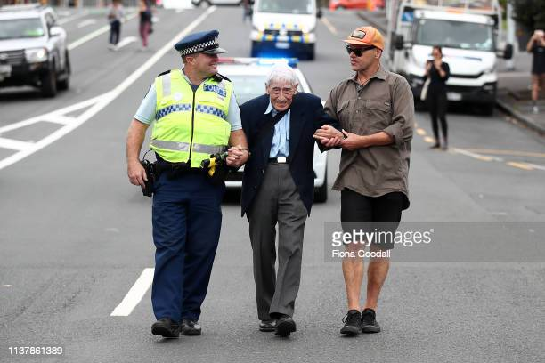 John Sato 95 one of only two Japaenses servicemen in the New Zealand army in WWII took two buses from Howick to join the march against racism at...