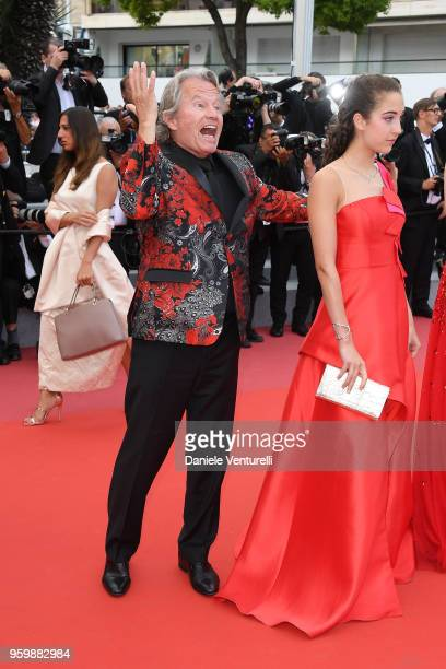 John Savage and Letizia Pinochi attend the screening of The Wild Pear Tree during the 71st annual Cannes Film Festival at Palais des Festivals on May...