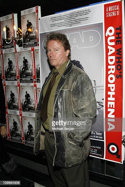 John savage during Quadrophenia Musical Theatre Performance at The Avalon in Hollywood California United States