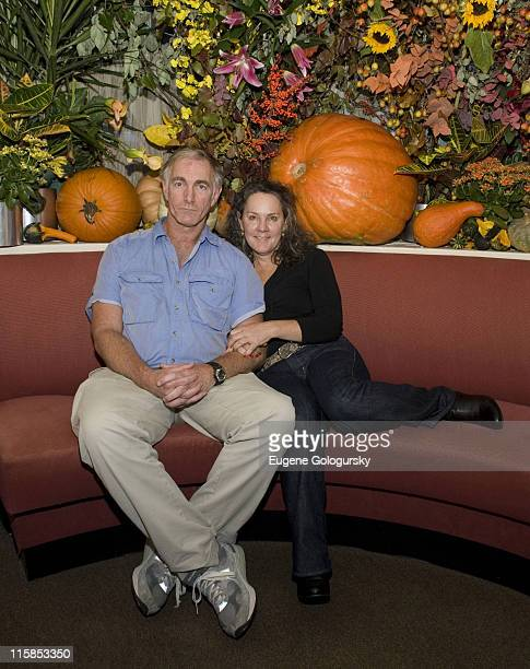 John Sayles and Maggie Renzi attend a lunch in honor of director John Sayles hosted by the Savannah Film Festival October 17, 2007 in New York City.