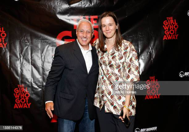 John Scaccia and Heidi Scheuermann attend The Girl Who Got Away Film Premiere at AMC Theater on August 19, 2021 in New York City.