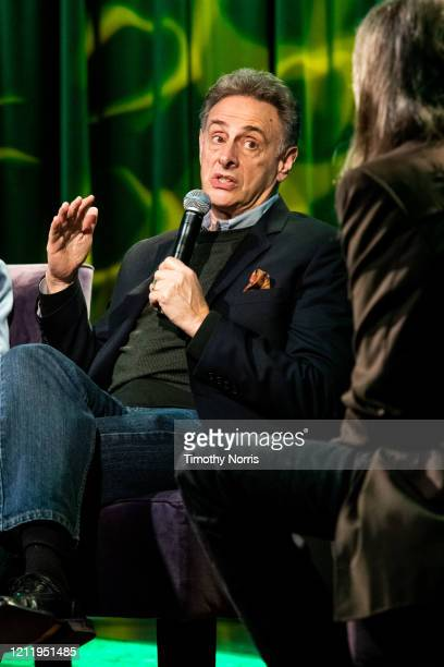 John Scheinfeld speaks at The GRAMMY Museum on March 11 2020 in Los Angeles California