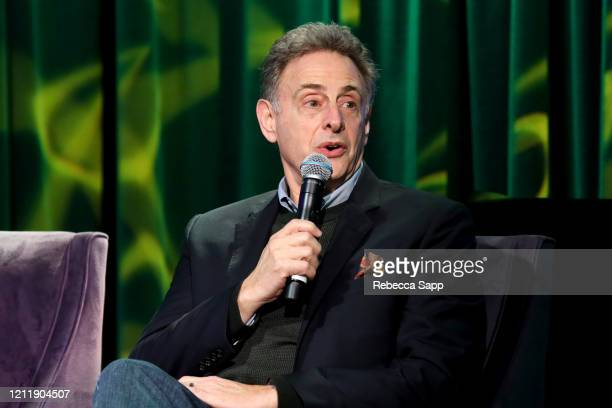 John Scheinfeld speaks onstage at Reel To Reel Sergio Mendes In The Key Of Joy at The GRAMMY Museum on March 11 2020 in Los Angeles California