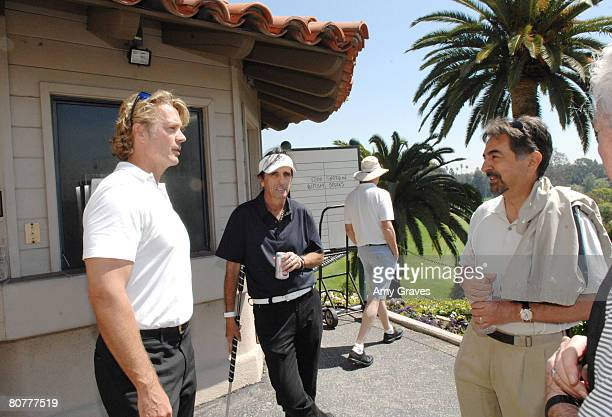 John Schneider Alice Cooper and Joe Mantegna participate in the Autism Speaks 5th Annual LA Golf Classic at the Riviera Country Club on April 14 2008...
