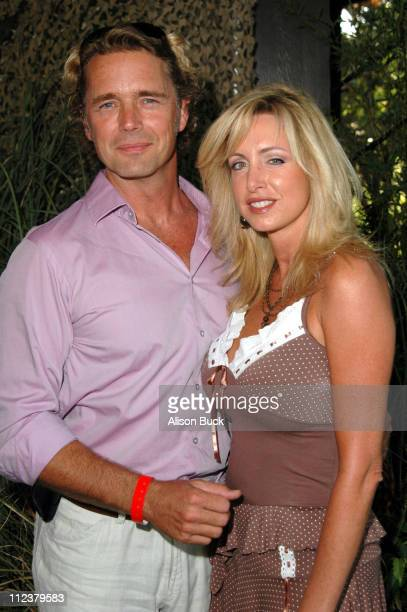 John Schneider and Elly Castle during Melodies and Memories at Los Angeles Zoo in Los Angeles California United States