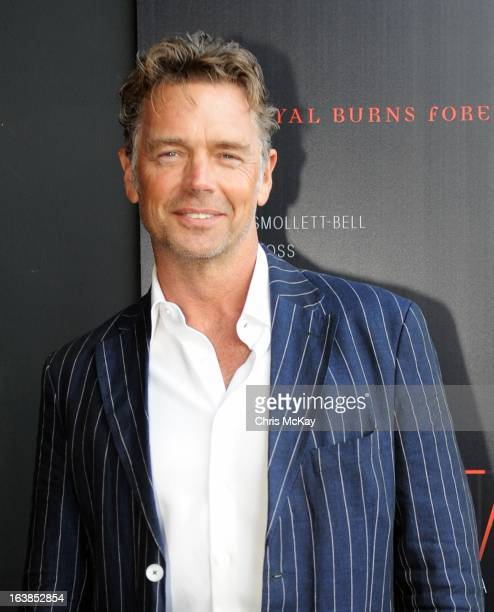 John Schneider attends the Tyler Perry's Temptation Confessions Of A Marriage Counselor Atlanta Screening at AMC Parkway Pointe on March 16 2013 in...