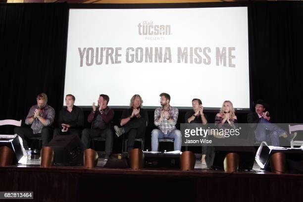 John Schneider John Kuelbs Dustin Rykert William Shockley Justin Deeley Leo Howard Eden XO and Kix Brooks attend 'You're Gonna Miss Me' premiere...