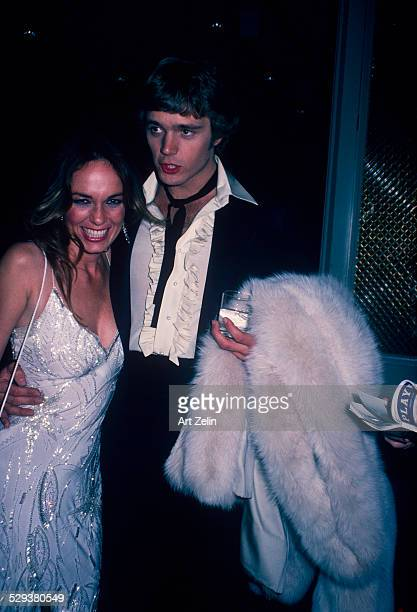 John Schneider with Catherine Bach at a formal event circa 1970 New York