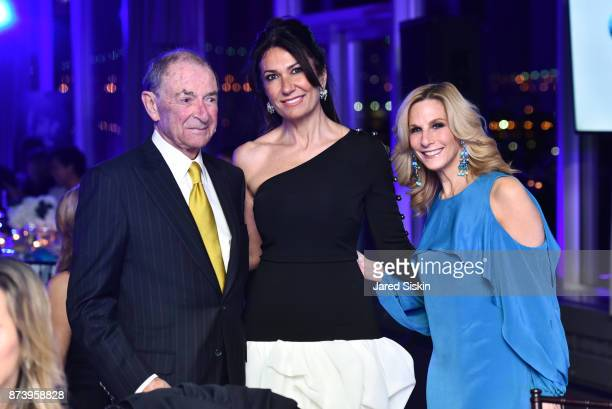 John Schumacher Nazee Moinian Randi Schatz attend AVENUE Altruism Awards Life Below Water Gala benefiting Mission Blue at the United Nations on...