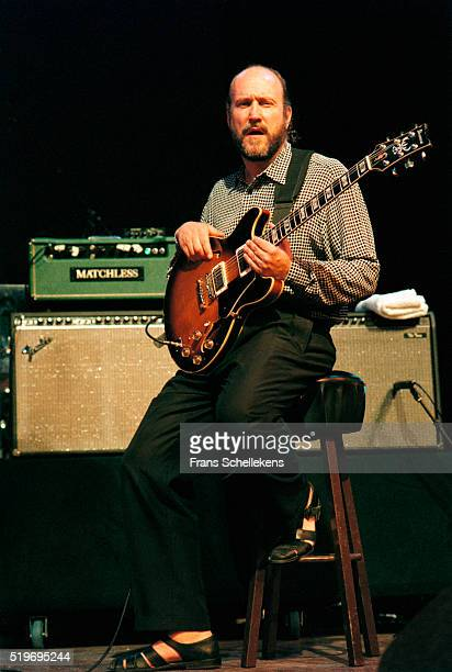 John Scofield guitar performs on July 13th 1997 at the North Sea Jazz Festival The Hague Netherlands
