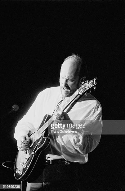 John Scofield guitar performs on July 14th 1991 at the North Sea Jazz Festival The Hague Netherlands