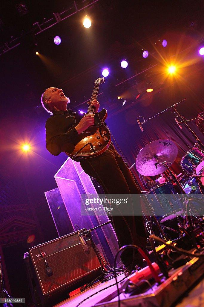 John Scofield of Madeski Scofield Martin & Wood performs at Ogden Theatre on December 7, 2012 in Denver, Colorado.