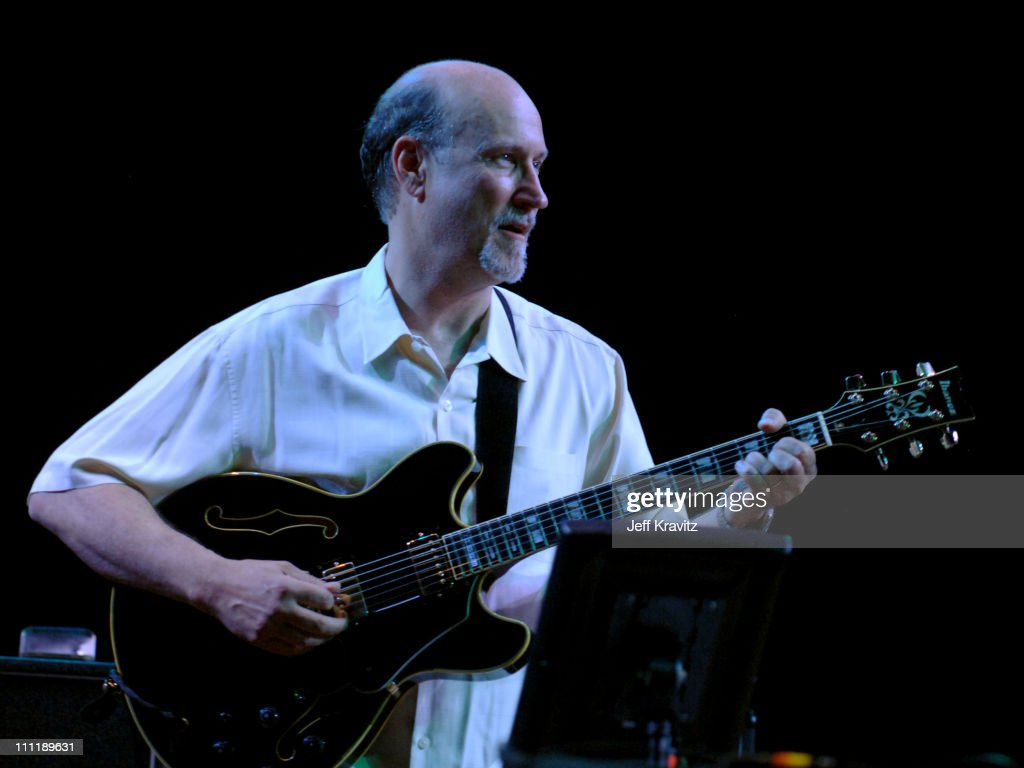 John Scofield of Phil Lesh and Friends during Bonnaroo 2006 - Day 3 - Phil Lesh and Friends at What Stage in Manchester, Tennessee, United States.