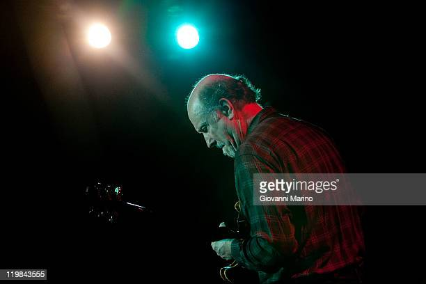 John Scofield performs at Vulcanica Live Festival in Rionero in Vulture on July 25 2011 in Potenza Italy