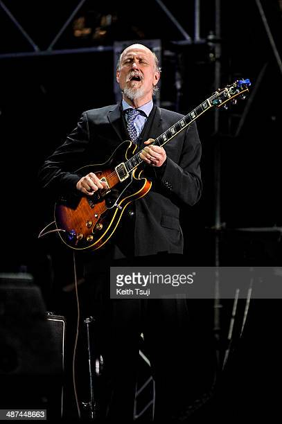 John Scofield performs on stage at the 2014 International Jazz Day Global Concert on April 30 2014 in Osaka Japan