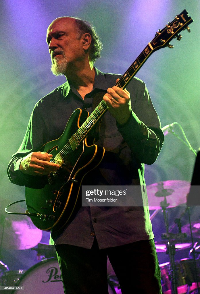 John Scofield performs with Gov't Mule in support of the band's ' Sco-Mule' release at The Fox Theater on February 20, 2015 in Oakland, California.