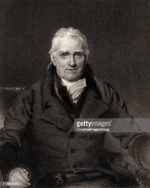 John Scott 1st Earl of Eldon 1751 to 1838 Lawyer judge statesman and Lord High Chancellor of Great Britain Engraved by H Robinson after Sir T...