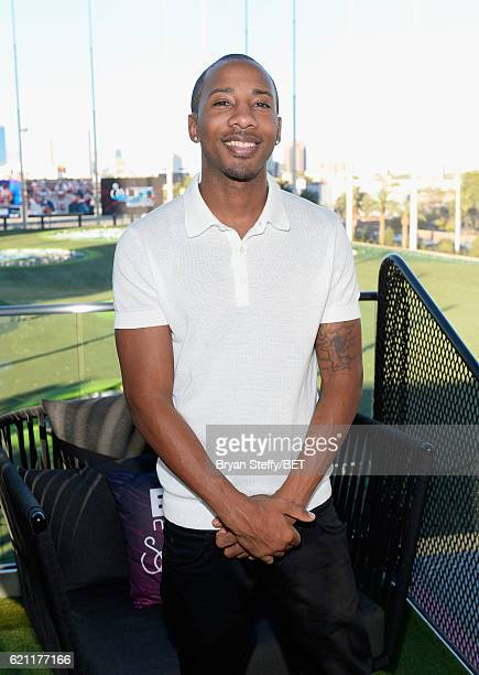 John Scott attends Soul Lunch Greens A Charity Golf Experience at Top Golf at MGM Grand Hotel Casino during Soul Train Weekend on November 4 2016 in...