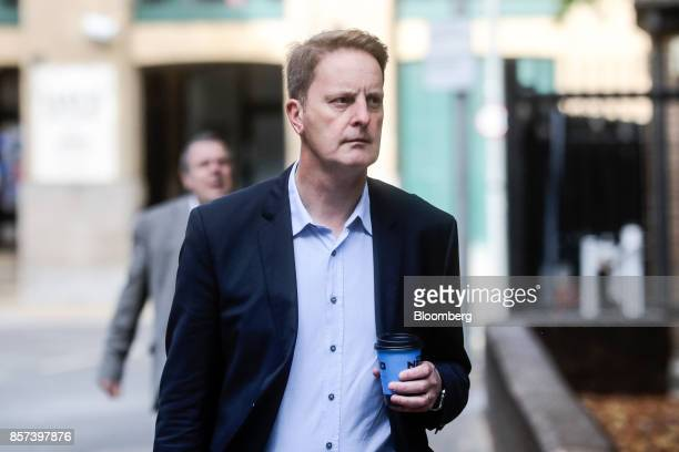 John Scouler former UK commercial director for Tesco Plc arrives at Southwark Crown Court in London UK on Wednesday Oct 4 2017 A senior Tesco...