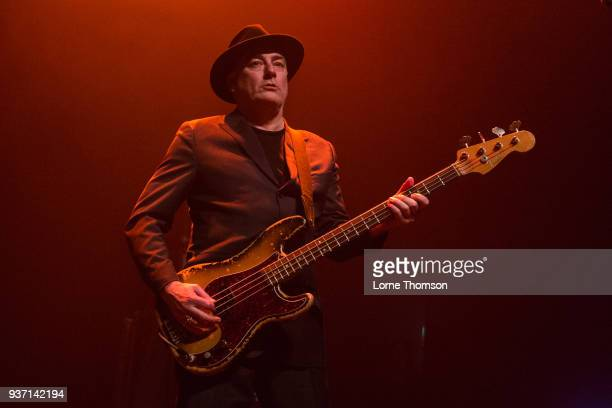 John 'Segs' Jennings of Ruts DC performs at The Forum on March 23 2018 in London England