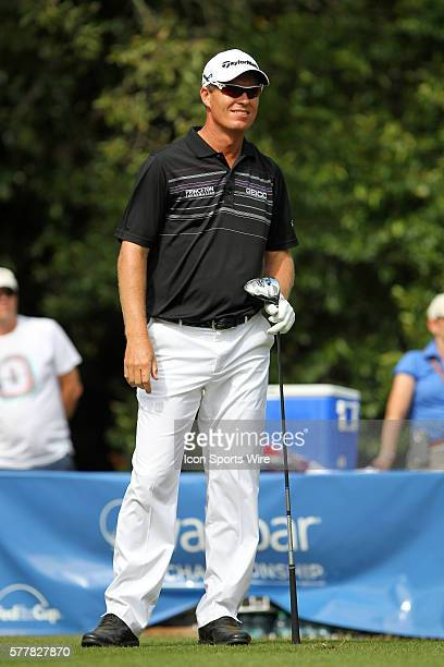 John Senden looks down the fairway during the final round of the Valspar Championship at Innisbrook Resort - Copperhead in Palm Harbor, Florida.