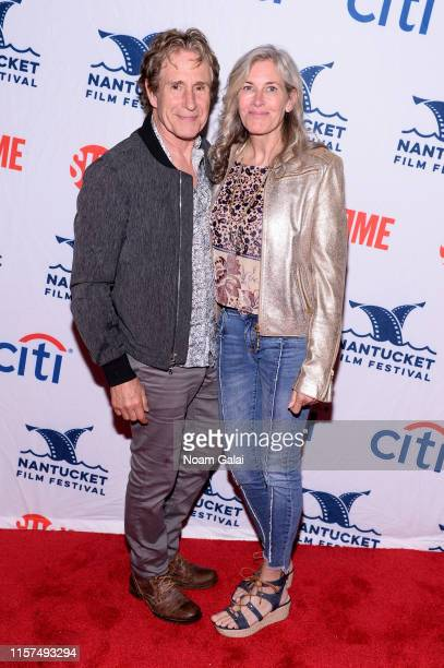 John Shea and Melissa MacLeod attend Late Night Storytelling at the 2019 Nantucket Film Festival Day Three on June 21 2019 in Nantucket Massachusetts