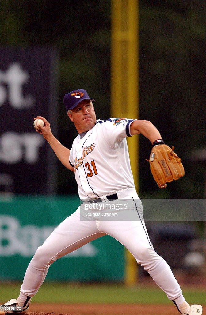 2003 Congressional Baseball : News Photo