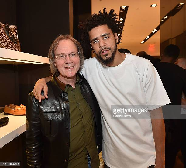 bf0295ad96c John Shoffner and J Cole attend J Cole For Bally Cocktail at Bally Phipps  Plaza on