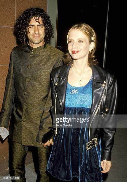 John Sidel and Rosanna Arquette during Pamela Barish's Fall '94 Collection Fashion Show April 20 1994 at Renaissance Supperclub in 19940420...