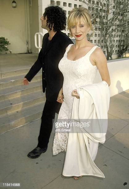 John Sidel and Rosanna Arquette during Premiere of Mi Vida Loca / My Crazy Life at Cinerama Dome Theater in Hollywood California United States