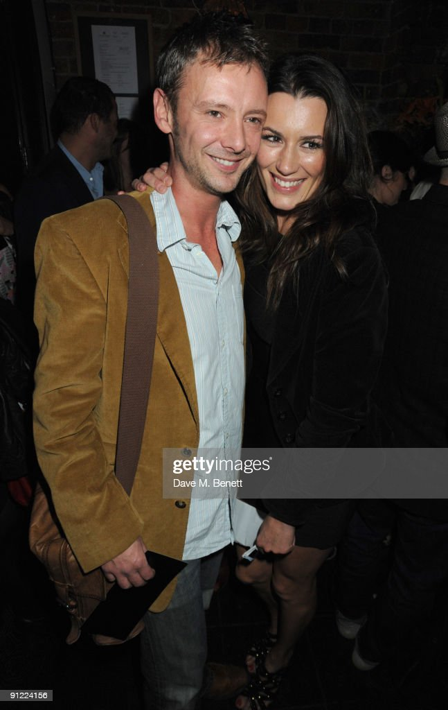 John Simm and Kate McGowan attend the afterparty following the press night of 'Speaking In Tongues', at the Jewell Bar on September 28, 2009 in London, England.