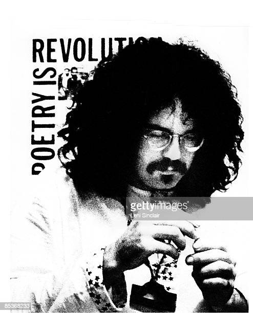 John Sinclair manager of the group MC5 and founder of the 'White Panther Party' poses for a portrait in 1969 in Detroit Michigan