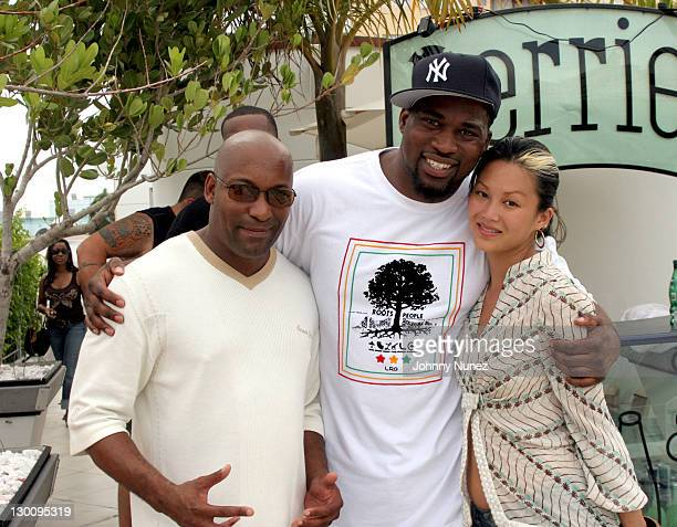 John Singelton DJ Biz Markie and Lisa Chu during 2005 MTV VMA John Singelton Party Hosted by DJ Biz Markie and Snoop Dogg at Sanctuary Hotel in Miami...