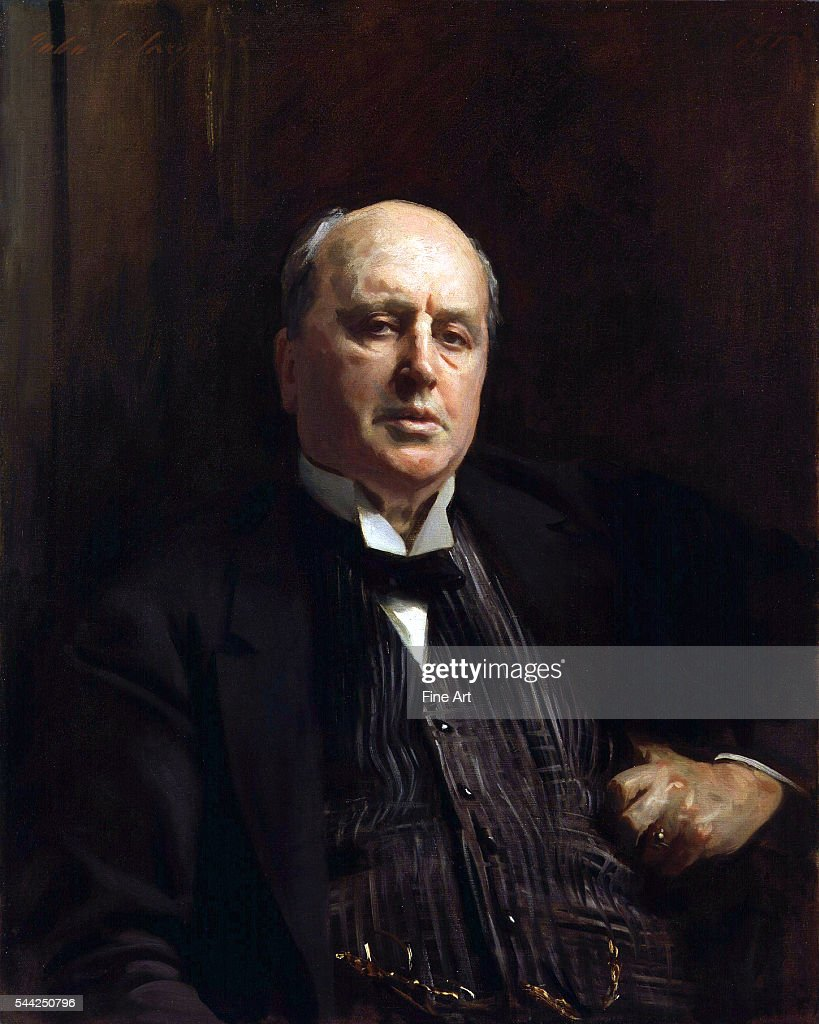 John Singer Sargent (American, 1856-1925), Portrait of Henry James, 1913, oil on canvas, 85.1 x 67.3 in, National Portrait Gallery, London.