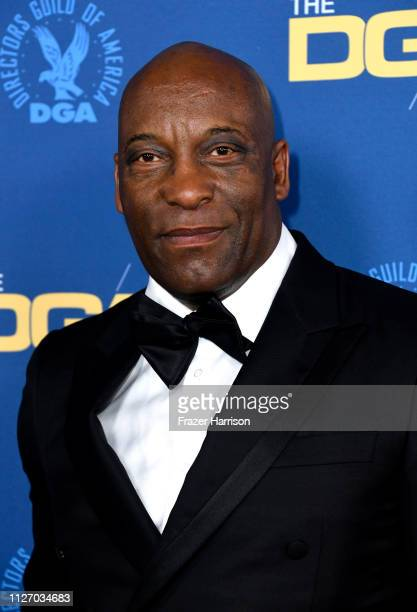 John Singleton attends the 71st Annual Directors Guild Of America Awards at The Ray Dolby Ballroom at Hollywood Highland Center on February 02 2019...