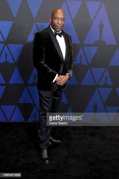 John Singleton attends the Academy of Motion Picture Arts and Sciences' 10th annual Governors Awards at The Ray Dolby Ballroom at Hollywood Highland...