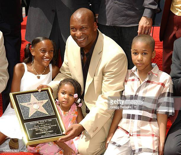 John Singleton kids Justice Cleo Massai
