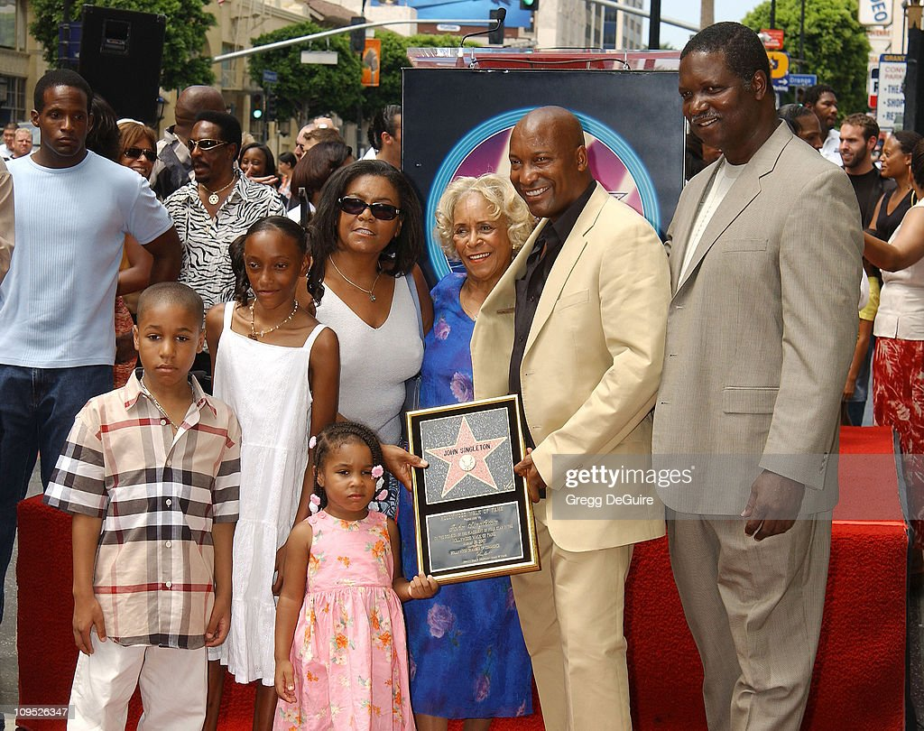 Director John Singleton Honored with a Star on the Hollywood Walk of Fame for His Achievements in Film : News Photo