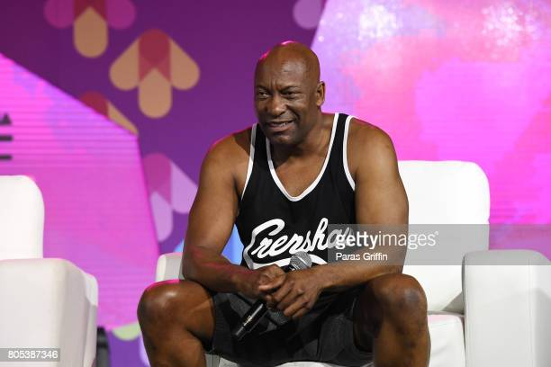 John Singleton speaks onstage at the 2017 ESSENCE Festival presented by CocaCola at Ernest N Morial Convention Center on July 1 2017 in New Orleans...
