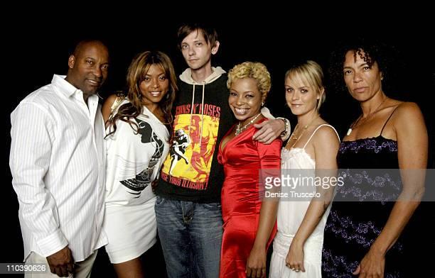 John Singleton Taraji Henson DJ Qualls Paula Jai Parker Taryn Manning and Stephanie Allain
