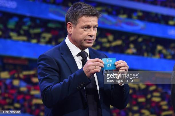 John Sivebaek attends the UEFA Euro 2020 Final Draw Ceremony on November 30 2019 in Bucharest Romania