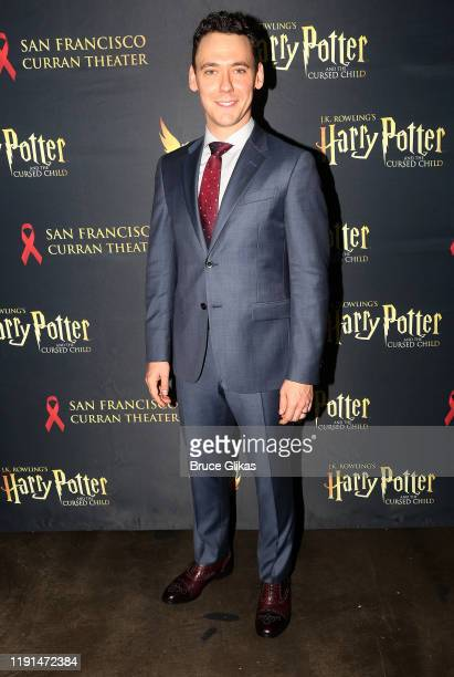 John Skelley poses at the opening night after party for Harry Potter and The Cursed Child Parts One 2 at August Hall on December 1 2019 in San...