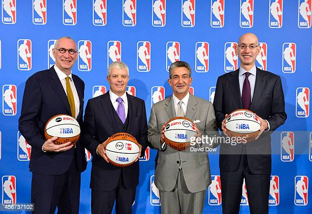 John Skipper ESPN President and Disney Media Networks CoChairman David Levy Turner Broadcasting Systems President Ted Leonsis owner of the Washington...