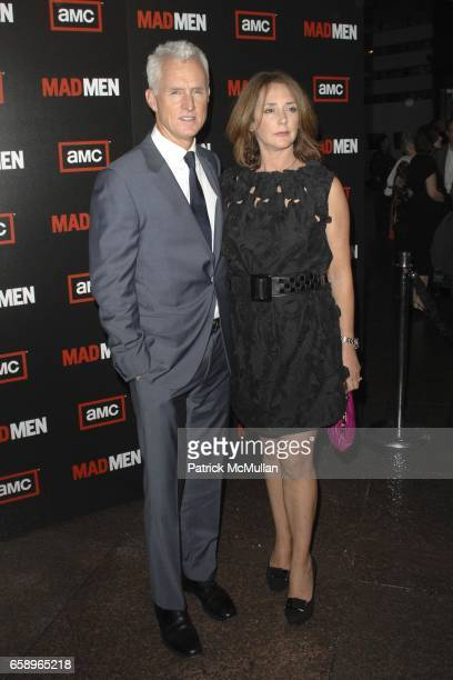 John Slattery and Talia Balsam attend AMC Hosts The Premiere Of Mad Men Season 3 at DGA on August 3 2009 in Los Angeles California