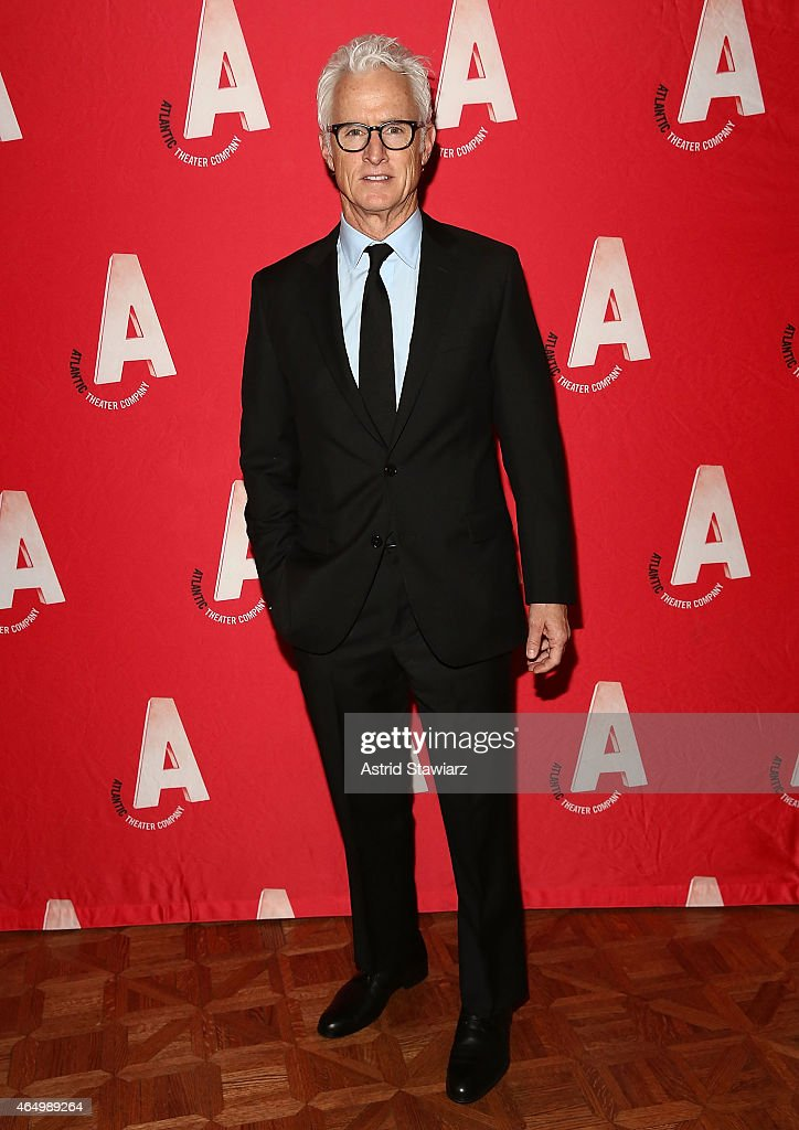 John Slattery attends Atlantic Theater Company 30th Anniversary Gala at The Pierre Hotel on March 2, 2015 in New York City.