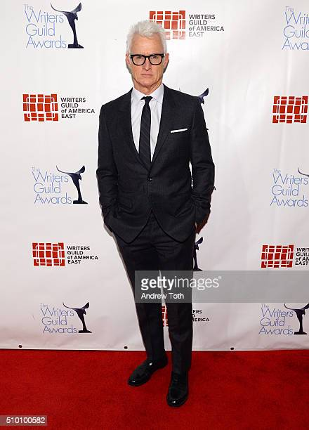 John Slattery attends the 2016 Writers Guild Awards New York Ceremony at The Edison Ballroom on February 13 2016 in New York City