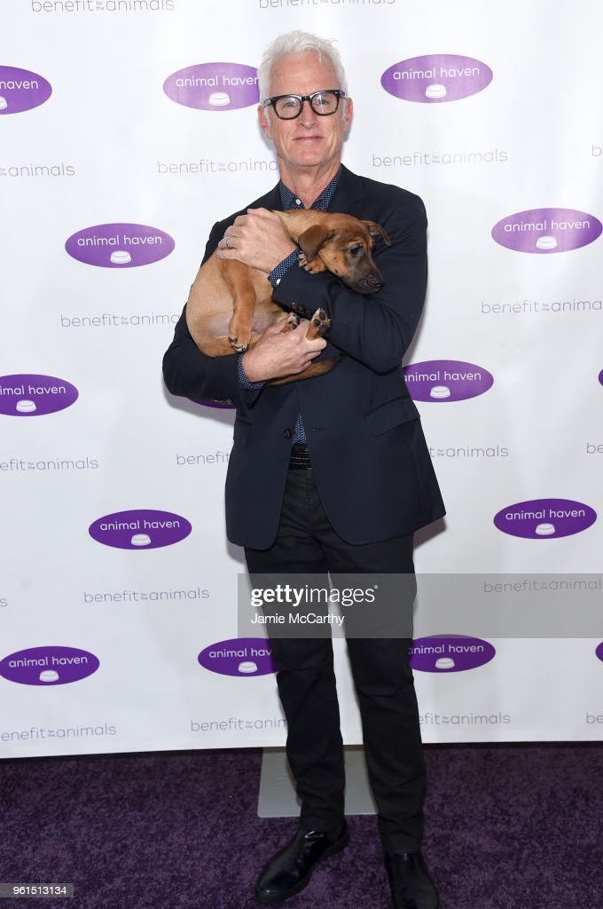 John Slattery attends the Animal Haven Gala 2018 at Tribeca 360 on May 22, 2018 in New York City.