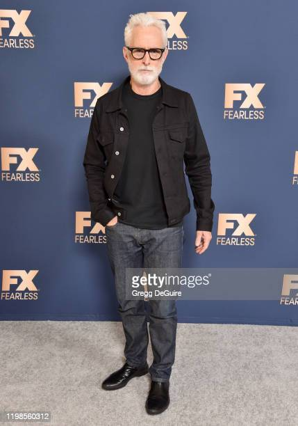 John Slattery attends the FX Networks' Star Walk Winter Press Tour 2020 at The Langham Huntington Pasadena on January 09 2020 in Pasadena California
